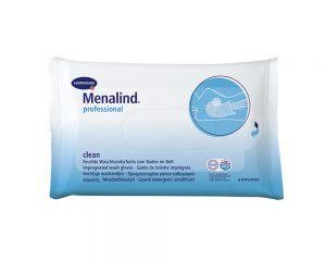 Menalind® professional clean Feuchte Waschhandschuhe