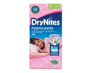 Drynites 4-7 Girls