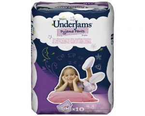 Pampers UnderJams Girl 4-8 Jahre