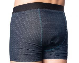 "Inkontinenz-Shorts ""Cool Black"" hinten"