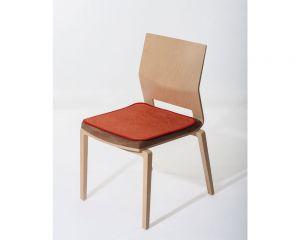 suprima 3702 Sitzauflage - Terrakotta