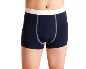 ActivePro Men Inkontinenz Unterwaesche blau weiß vorne