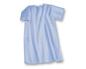 suprima 4072 Pflegehemd blau Kurzarm