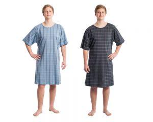 suprima 4079 Pflegehemd für Herren hinten