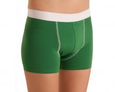 ActivePro Boys Inkontinenz Shorts gruen vorne