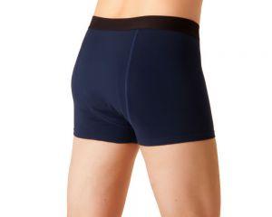 ActivePro Men Inkontinenz Unterwaesche blau-schwarz Hinten
