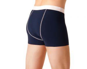 ActivePro Men Inkontinenz Unterwaesche blau weiß hinten