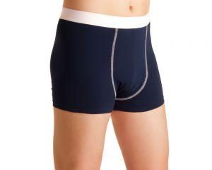 ActivePro Men Inkontinenz Unterwaesche blau-weiß Seite