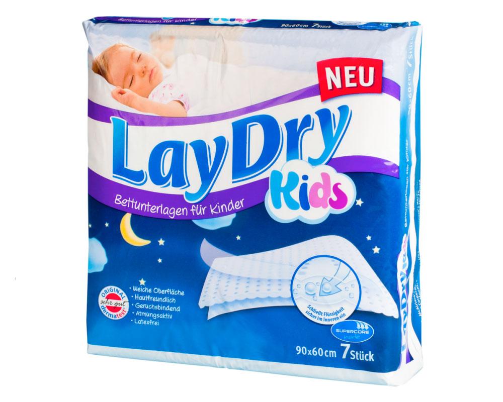 LayDry Kids Bettunterlagen