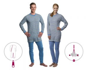 suprima 4708 Pflegeoverall Pyjama CareFunction