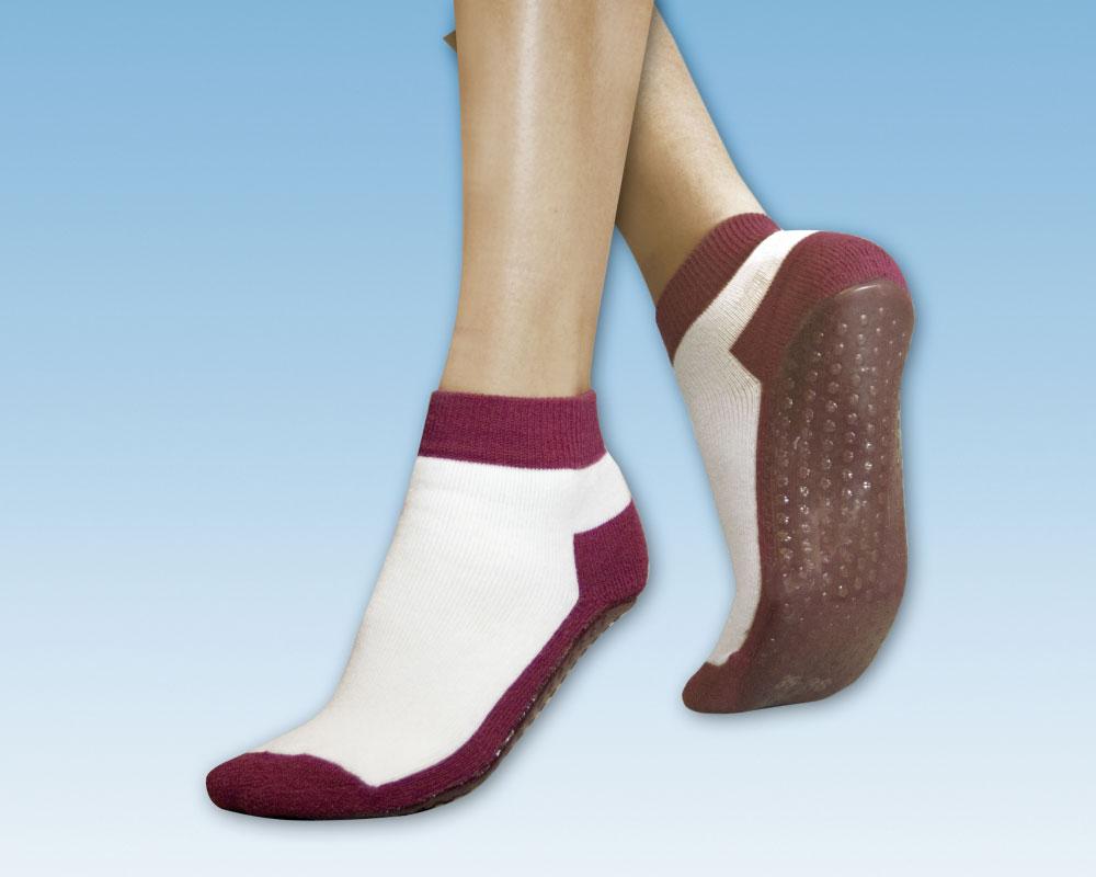 suprima 4820 Anti Rutsch-Socken Bordeaux