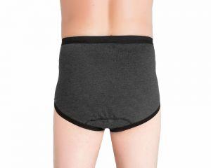 ActivePro PU Slip Melange Inkontinenz Unterwaesche hinten