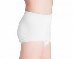 ActivePro PU Slip Weiss Inkontinenz Unterwaesche Seite