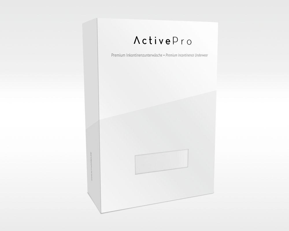 ActivePro Inkontinenz-Shorts Boys Weiß