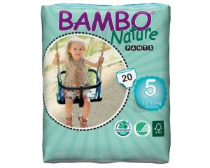 BAMBO Nature Pants Junior 12-20kg, Groesse 5