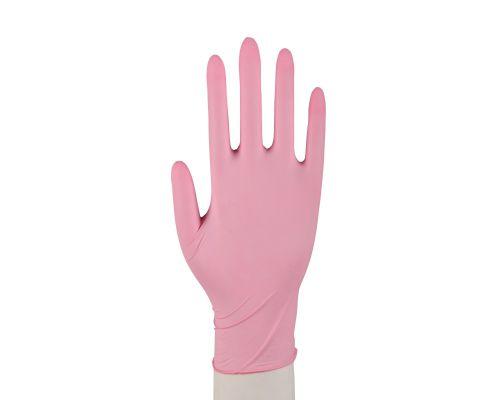 Abena Nitrilhandschuhe Sensitive pink