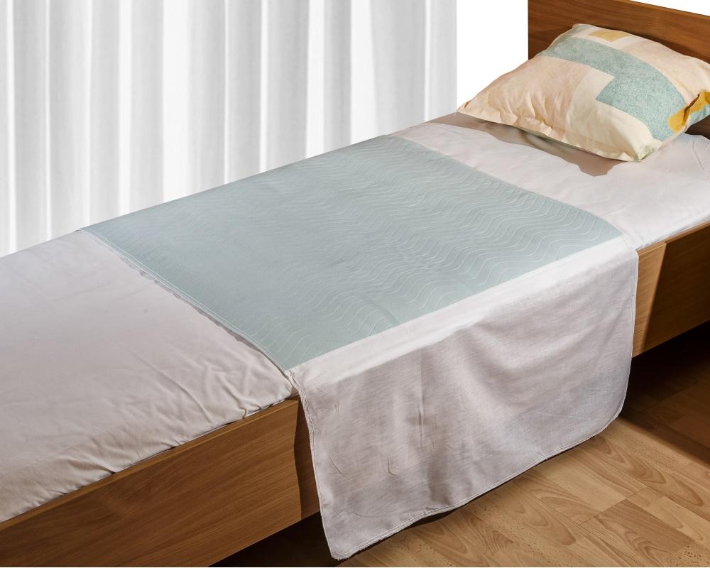 MedLogics Inkontinenz Bettschutzunterlage mit Seitenteilen