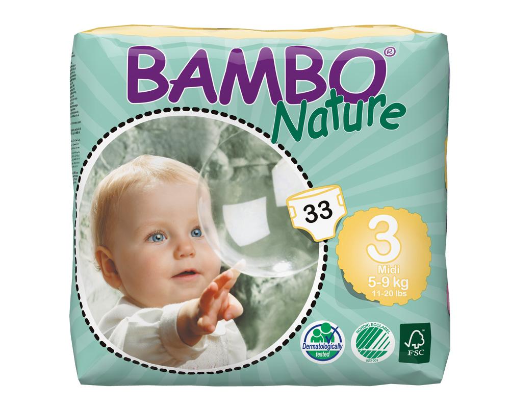BAMBO Nature MIDI 5-9kg, Größe 3