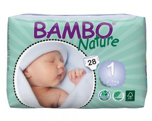 BAMBO Nature NEW BORN 2-4kg, Größe 1