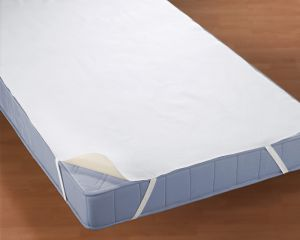 Biberna wasserdichte Molton Matratzenauflage Silverprotect 3-lagig