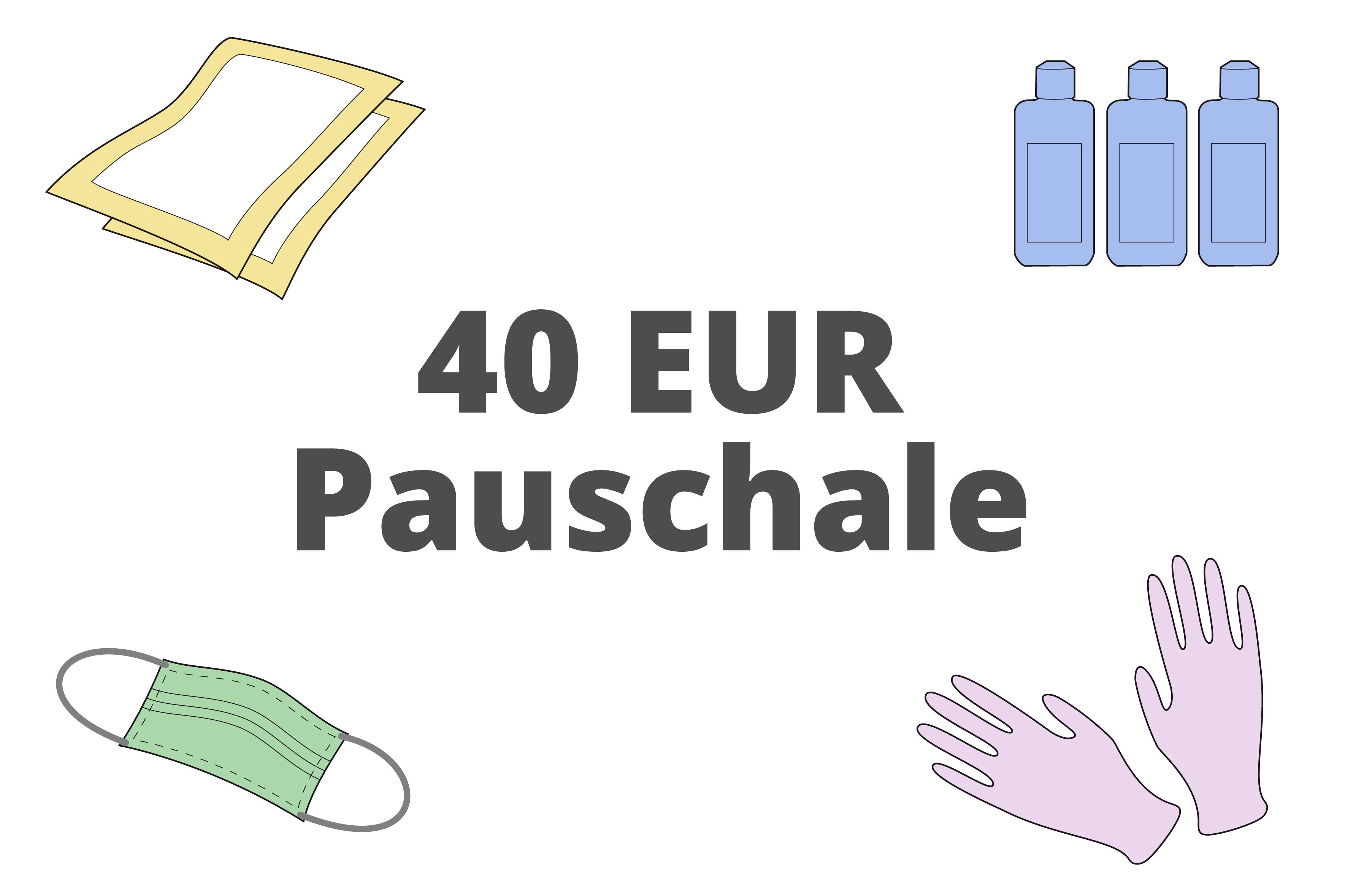 40 EUR Pauschale
