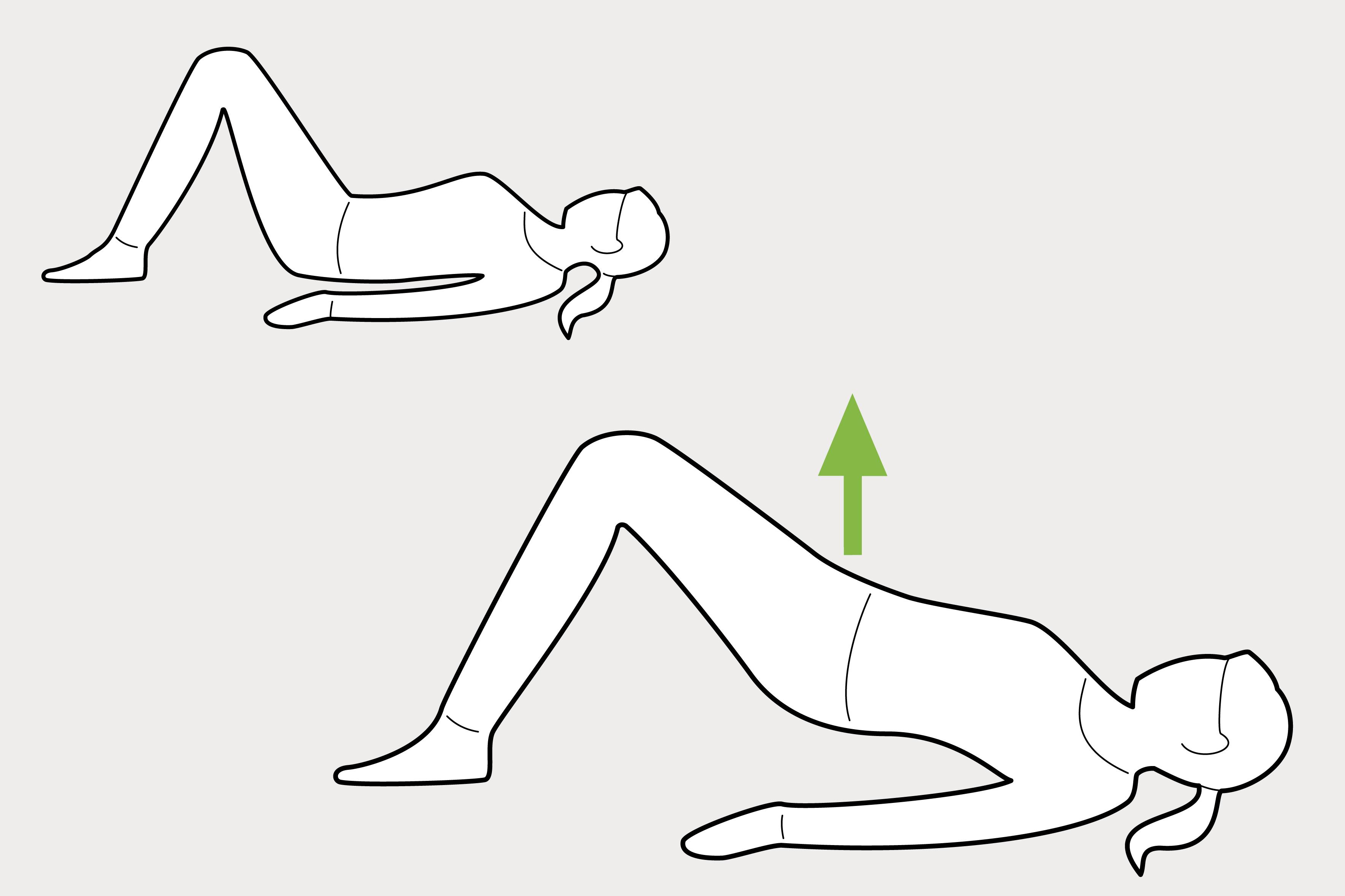 Beckenbodentraining – 6 Übungen im Liegen