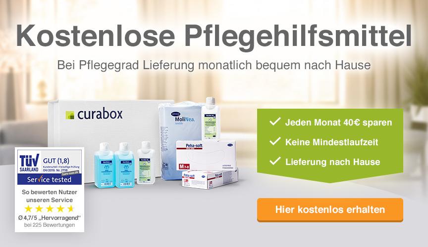 curabox Pflegehilfsmittel