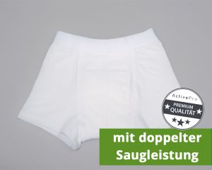 "ActivePro Boys Inkontinenz-Shorts ""Weiß"" Super"