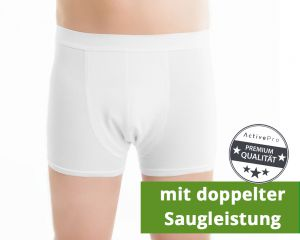 "ActivePro Men Inkontinenz-Shorts ""Weiß"" Super"