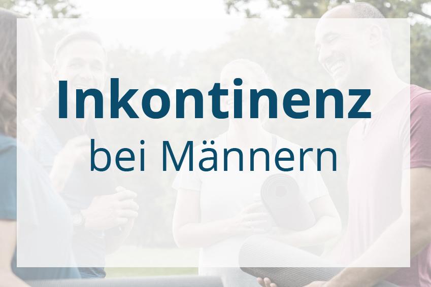 Inkontinenz bei Maennern