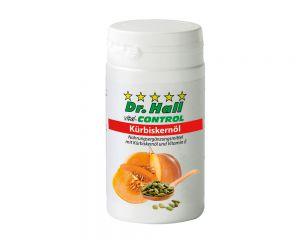 Dr. Hall Kürbiskernöl, 30 Weichgelatine-Kapseln (15-Tage-Kur)