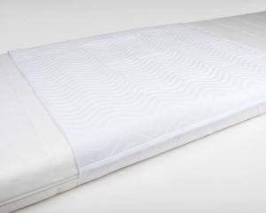 Inkontinenz Bettschutzunterlage 4-lagig weiß