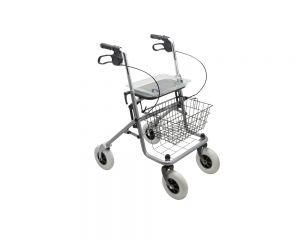 Rollator mit Einkaufskorb