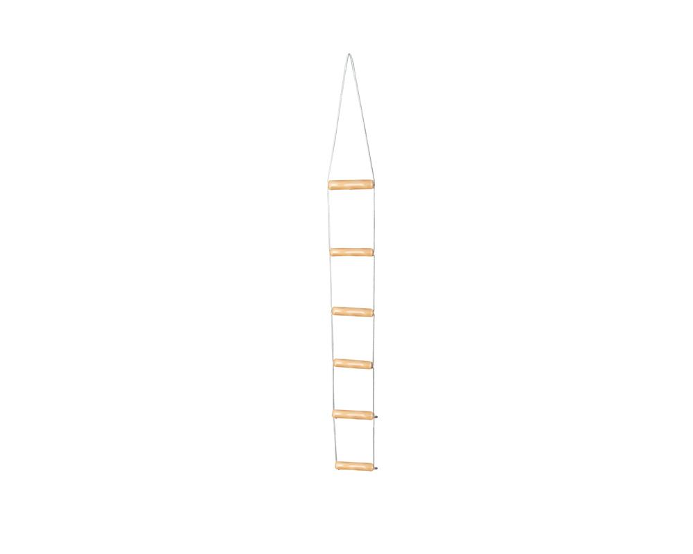 Bettleiter aus Holz 160 cm