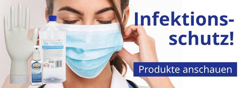 Insenio Slider Infektionsschutz