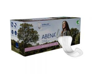 Abena Light Ultra Mini 0 Packung und Einlage