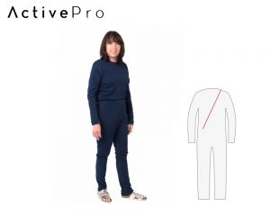 ActivePro Pflegeoverall relax lang Rücken-RV