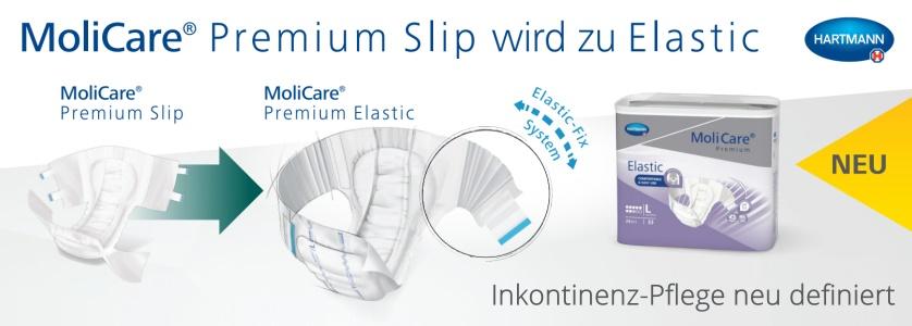 Aus MoliCare Premium Slip wird MoliCare Premium Elastic