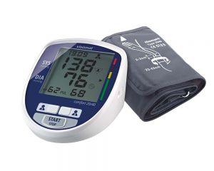 visomat comfort eco Blutdruckmessgerät Display und Manschette