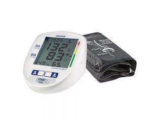 visomat double comfort Blutdruckmessgerät Display und Manschette