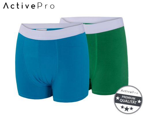 ActivePro Inkontinenz-Shorts Boys 2er-Pack