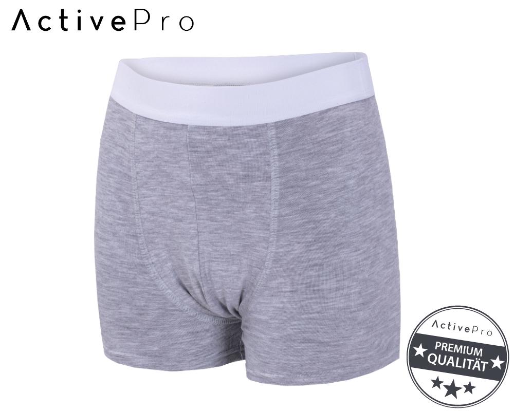 Inkontinenzhose Jungen stone grey ActivePro 10