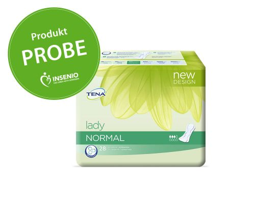 Produktprobe TENA Lady Normal