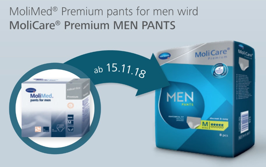 molicare men pants neu