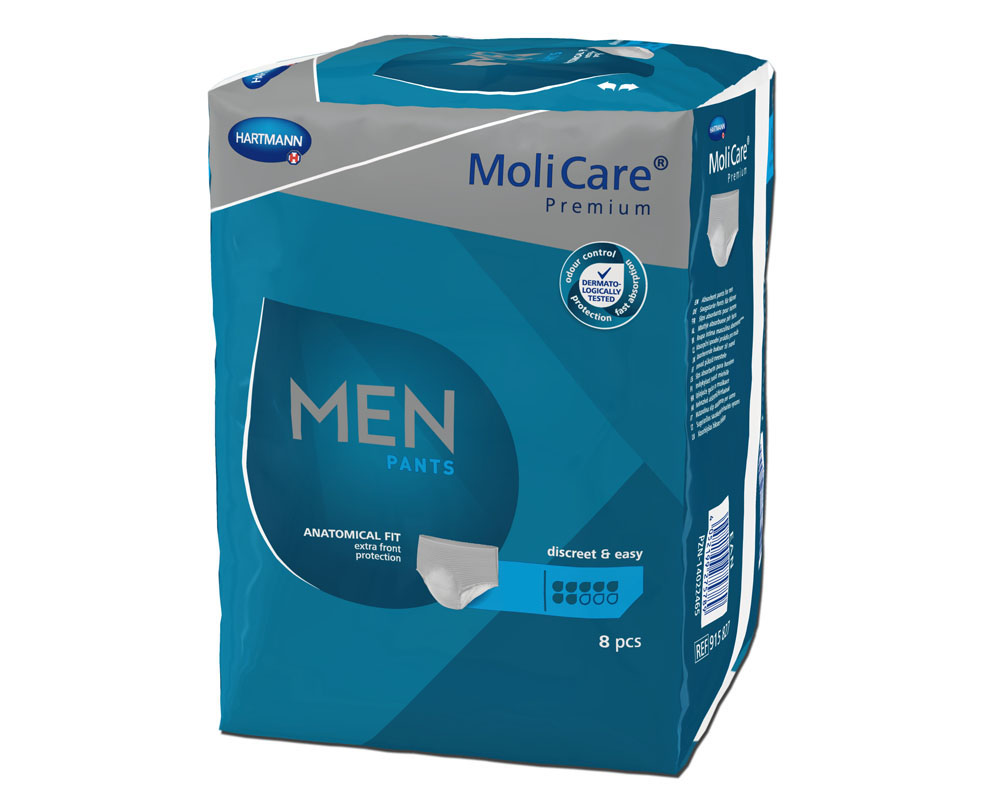 MoliCare Premium MEN PANTS 7 Tropfen (MoliMed Premium pants for men)