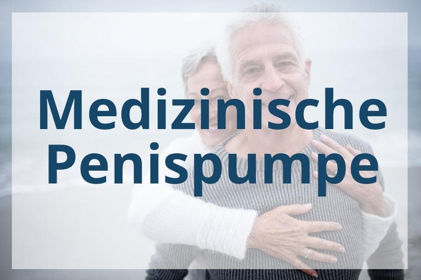 Medizinische Penispumpe