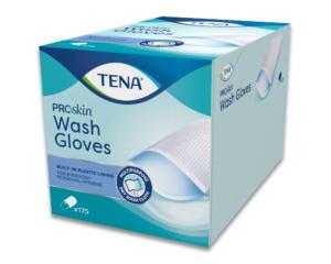TENA Wash Glove Waschhandschuhe mit Folie