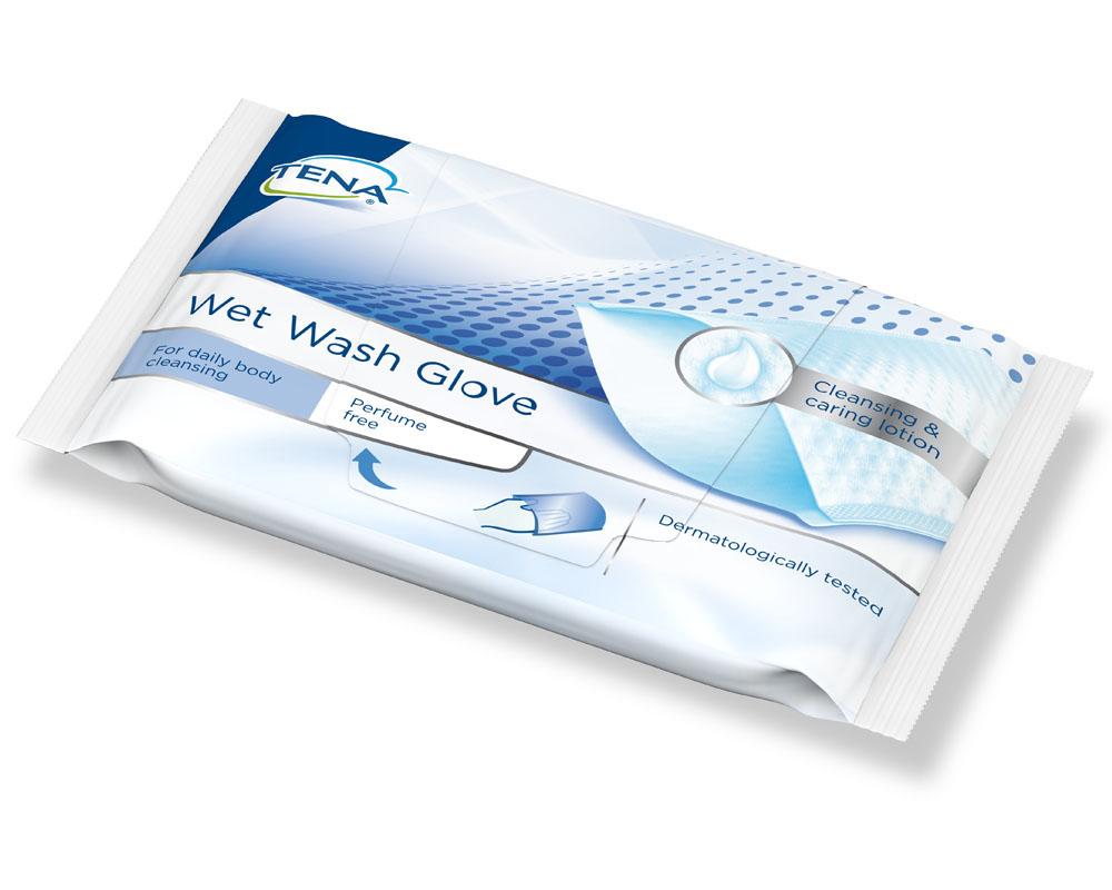 Tena Wet Wash Glove parfümfrei