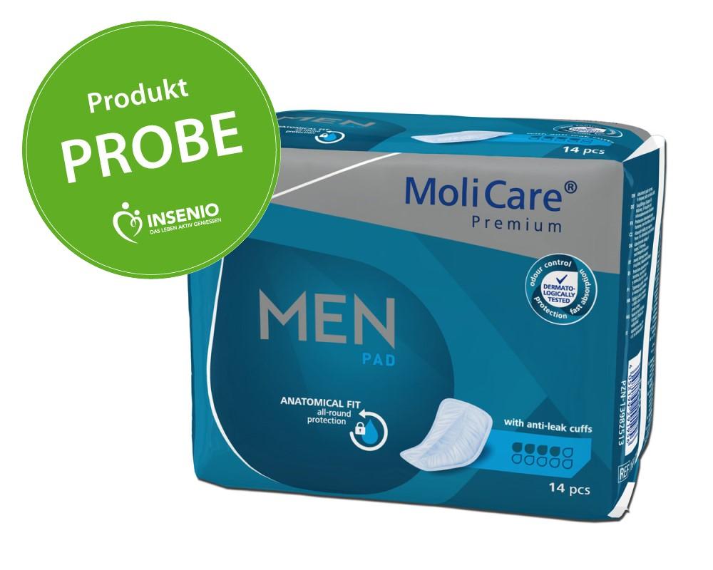 Produktprobe MoliCare Premium MEN PAD 4 Tropfen