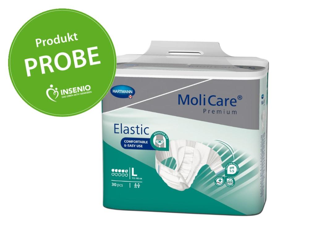 Molicare Premium Elastic 5 Tropfen Probe Muster